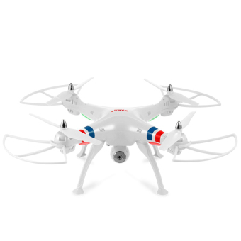 Harga SYMA X8W WiFi FPV Headless Mode 2.4G Remote Control Quadcopter with HD 2.0MP Camera 6 Axis Gyro 3D Roll Stumbling UFO SYMA X8W/WiFi FPV / with HD 2.0MP Camera/Headless Mode (White)