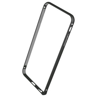 Harga Metal Ultra Thin Bumper Case for Apple iPhone 6 Plus (Black)