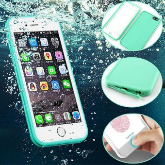 360 degree Full Sealed Waterproof Bag Cover For Funda iPhone 6/6S plus 5.5 Swim Diving Cases Touch ID Fingerprint Design - intl Price Philippines