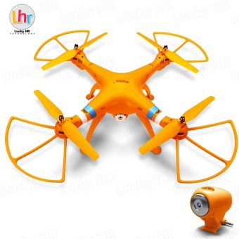 Harga Syma X8C Venture with 2MP 2.4G 4CH Quadcopter (Orange)