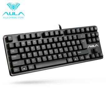 AULA OFFICIAL F2012 Mechanical Gaming Keyboard USB Wired Keyboard(Black) Price Philippines