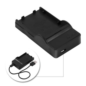 USB Charger With USB Cable for Olympus BLS1Fuji FNP140 - intl Price Philippines