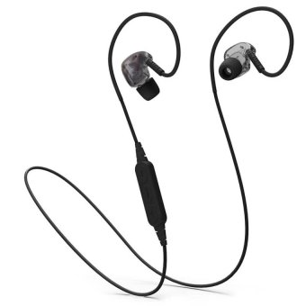 PLEXTONE BX240 Wireless Bluetooth Headphones Sport Running Stereo Earphone Waterproof Headset With Mic - Black - intl Price Philippines