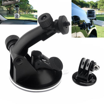 Harga New Suction Cup Mount Windshield for GoPro Hero 3+ 3 2 Hero3 Camera Accessories