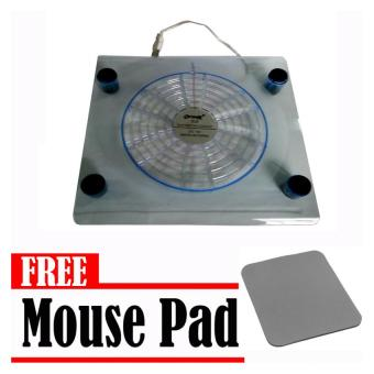 Optimax Notebook Cooler (Blue) with Free Mouse Pad Price Philippines
