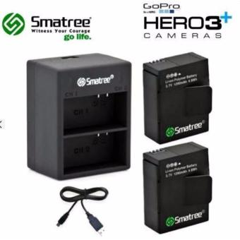 Harga Smatree 2C-005 Battery Kit with Dual Charger For Gopro Hero 3/Hero 3+