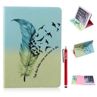 Moonmini PU Leather Stand Flip Cover for Apple iPad 6 / iPad Air 2 (Multicolor) Price Philippines