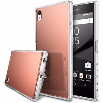 Harga Ringke Mirror Case for Sony Xperia Z5 Premium (Rose Gold)