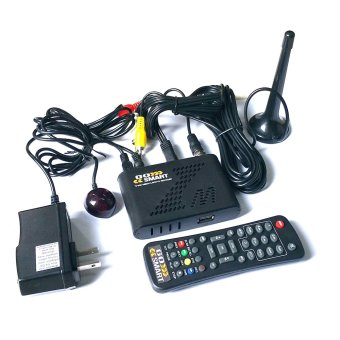 Harga Cybertec Go Smart Home Media Player ISDBT TV Plus TV Box (Black)