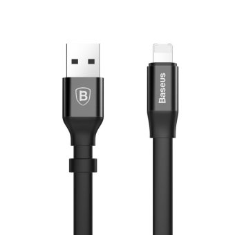 Harga Baseus 2in1 USB Charger Cable for IPhone Lightning Charging Cable for Samsung Huawei Xaomi Micro Usb Cable Android Data Cable(23cm) - intl