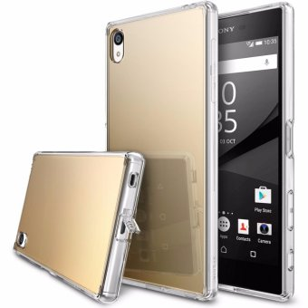 Harga Ringke Mirror Case for Sony Xperia Z5 Premium (Royal Gold)