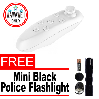 Bluetooth Game Controller (White) with free Mini Police Flashlight Price Philippines