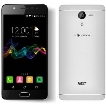CloudFone Next 32GB (Silver) with Free Jelly Case, Faux Leather Flip Case and Screen Protector Price Philippines