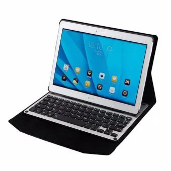 Harga HUAST Ultra-thin Aluminum Bluetooth Removable Keyboard Case for Huawei MediaPad M2 10 10.1inch - intl