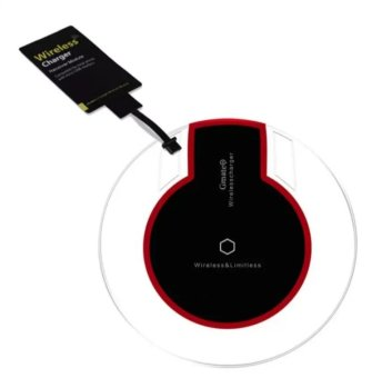 Harga Wireless Charger Set with QI for Android (Black)