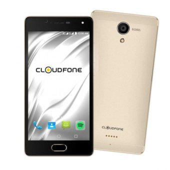 Cloudfone Thrill Access 16GB (Gold) with Free Spotify Earphones and Protective Cover Price Philippines