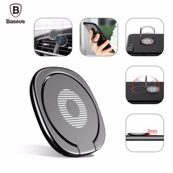 Harga Baseus 360 Finger Ring Holder Fit For Magnetic Car Bracket Luxury Phone Holder Stand - intl