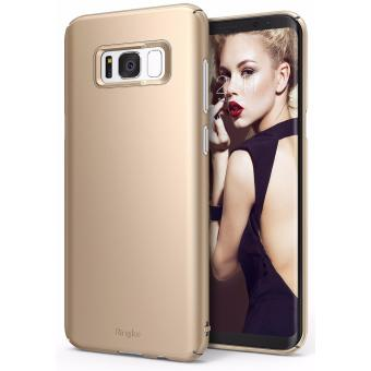 Harga Ringke Slim Case for Samsung Galaxy S8 (Royal Gold)