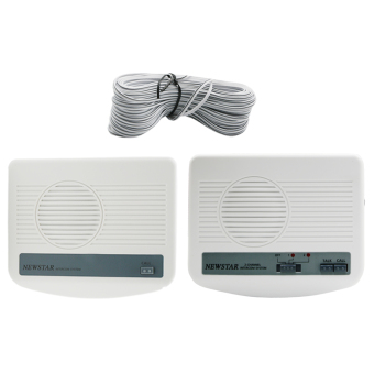 Harga Newstar 2 Way Wired Intercom (One Main and One Sub) MIC-9722