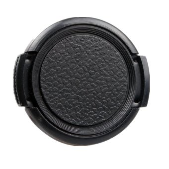 49mm Front Lens Cap Hood Cover Snap-on for Olympus (Black) Price Philippines