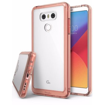 Harga Ringke Fusion Bumper Cover Case for LG G6 (Rose Gold)