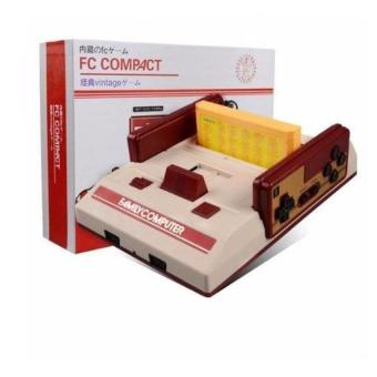 FC Compact Classic Family Computer with Built in 100 Games and 132 Games External Game Cartridge(Red) Price Philippines