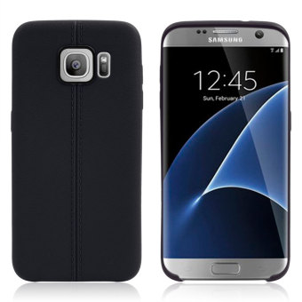 Moonmini TPU Ultra-thin Soft Back Case Cover for Samsung Galaxy S7 Edge - Black Price Philippines