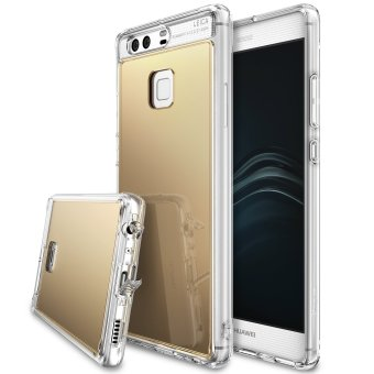 Harga Ringke Mirror PU Cover Case for Huawei P9 (Royal Gold)