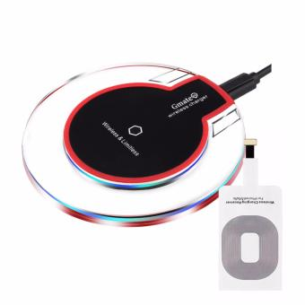Harga Gmate Wireless Charger Pad + iOs Qi Receiver (Set)