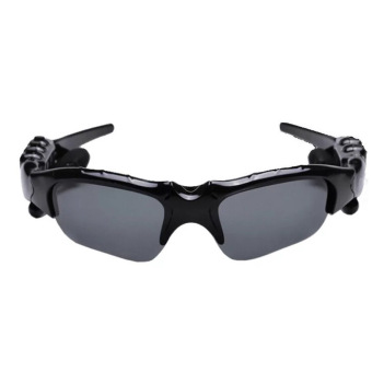Harga Auxis BTglasses THB368 Music Stereo Bluetooth Sun Glasses (Black)