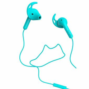 Harga Defunc Headphone Go Sport (Cyan)