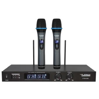 The Platinum PTW-500 Wireless Microphone Price Philippines