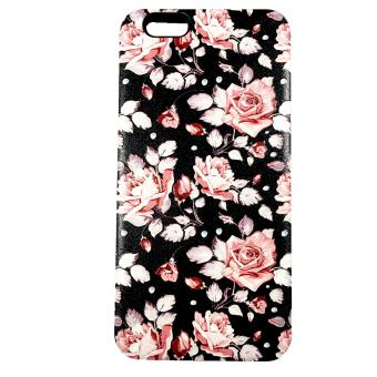 Harga DualPro Hard Shell PC Case with Floral Paint for Oppo F1S A59 #4