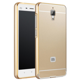 Harga Alumium Metal Frame Case For Xiao Mi Mi 4 M4 M 4 (Color:Gold)