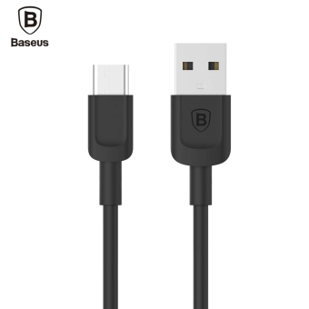 Harga Baseus Zoole Series Type-C Charging USB Cable 1M Quick Charge (Black) - intl