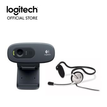 LOGITECH C270H HD WEBCAM+MONO HEADSET FE Price Philippines