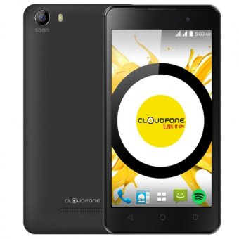 CloudFone Excite 8GB (Black) with Free Spotify Earphones Price Philippines