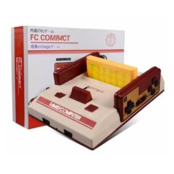 FC Compact Classic Family Computer with Built in 500 Games and 132 Games External Game Cartridge Price Philippines