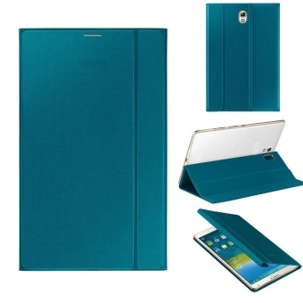 Ultra Slim Leather Cover Case For Samsung Galaxy Tab S 8.4Inch T700 Blue(Blue) - intl Price Philippines