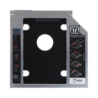 12.7mm SATA HDD SSD Hard Drive Caddy Optical DVD Bay Adapter - Intl Price Philippines