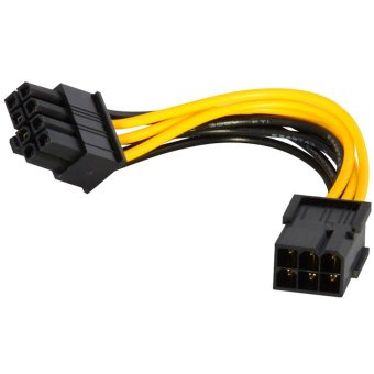 6-pin to 8-pin PCI Express Power Converter Cable for GPU Video Card PCIE PCI-E Price Philippines