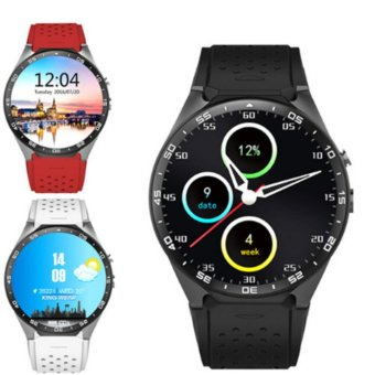 Harga 2017 Hot kingwear Kw88 android 5.1 OS Smart watch 1.39 inch 400*400 SmartWatch phone support 3G wifi nano SIM WCDMA Heart Rate - intl