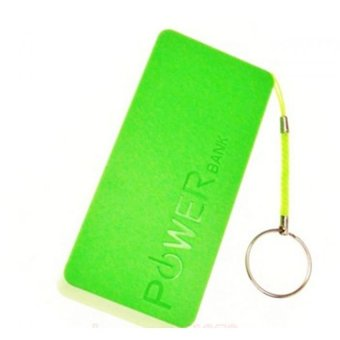 Harga Mini 5600 Mah Powerbank (Green)