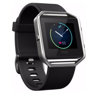 Fitbit Blaze Smart Fitness Watch - XLarge (Black Silver) Price Philippines