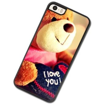 Cute bear phone Case For Apple iPhone 4 4s - intl Price Philippines