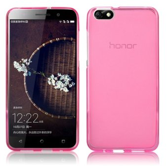 Harga BYT TPU Back Case for Huawei Honor 4X (Pink)