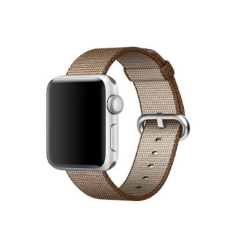 Apple Watch Strap 38mm,Premium Nylon Woven Smart Watch Replacement Wrist Watch Band with Adjustable Buckle for New Apple iWatch Series 2/ Series 1 - intl Price Philippines