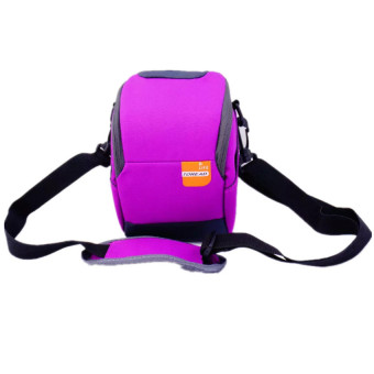 Harga Soft Camera Bag Case Pouch for Nikon J1 J2 J3 J4 S1 J5 (Purple) - intl