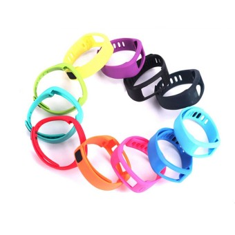 Harga 10PCS Silicone Band Strap for Garmin Vivofit Bracelet with Clasp