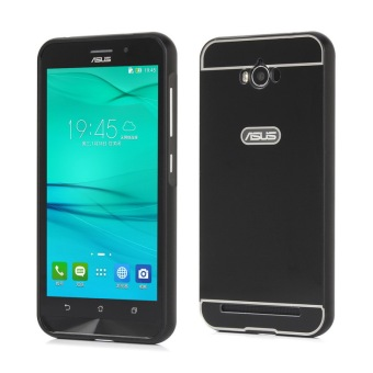 Moonmini PC Back Cover Metal Bumper Frame Case for Asus ZenFone Max ZC550KL (Black) Price Philippines